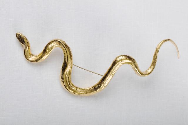 , 'Broche serpent doré,' , Paul Kasmin Gallery