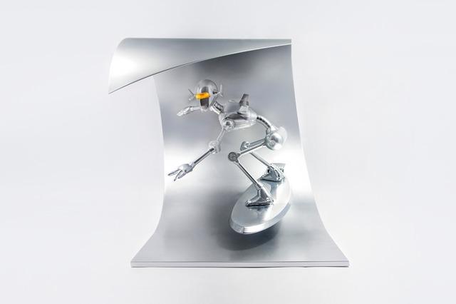 Hajime Sorayama, 'CLASSIC ROBOT SURF', 2018, Sculpture, Mix material, Alloy, Dope! Gallery