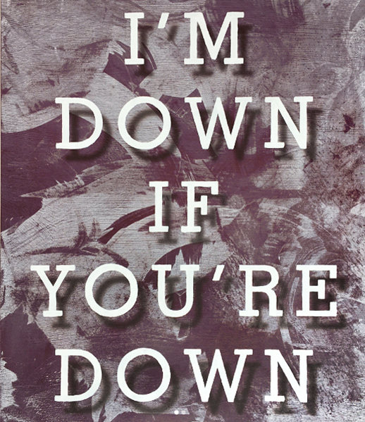 , 'I'm Down,' 2017, Winsor Gallery