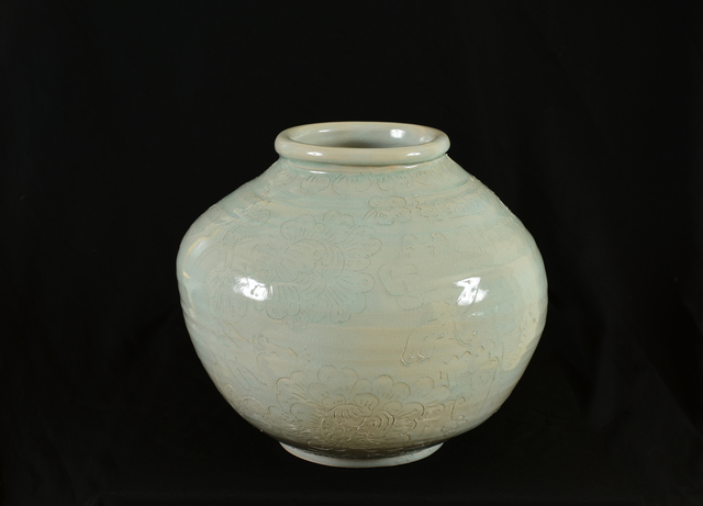 , 'CSULB Celadon Pot #1,' 2019, Mark Moore Fine Art