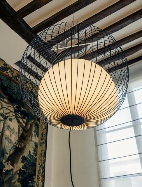 """, '""""Nour"""" hanging lamp,' 2015, Galerie Gosserez"""