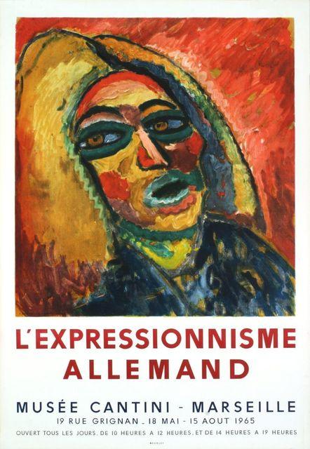 Ernst Ludwig Kirchner, 'L'Expressionnisme Allemand', 1965, ArtWise