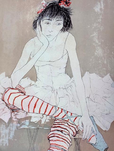 Jean Jansem, 'Sophie aux bas rouges, ', 1993, Aubert Jansem Galerie