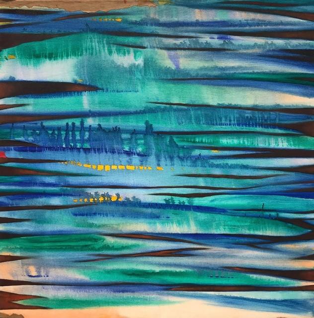 Javier David Ramos, 'Contemplación de la laguna I', 2017, Painting, Acrylic on canvas, Biaggi & Faure Fine Art