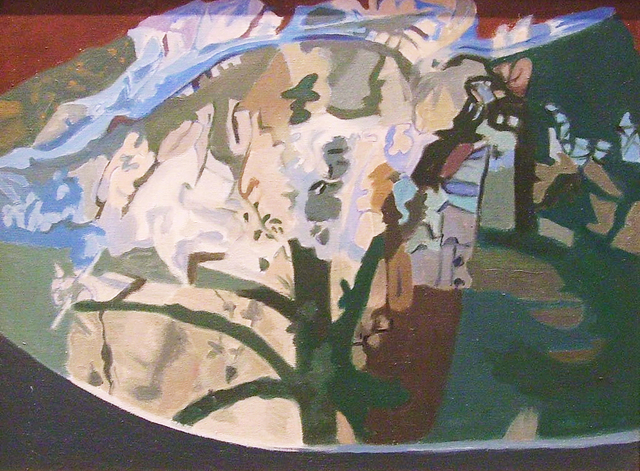 , 'Tree Half Covered,' 1991, Walter Wickiser Gallery