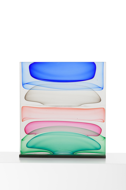 , 'Infusion Block in Blues, Grey, Aurora, Rose and Greens,' 2015, METHOD & CONCEPT