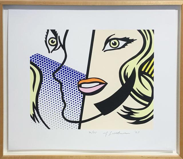 Roy Lichtenstein, 'Untitled Head', 1995, Hamilton-Selway Fine Art