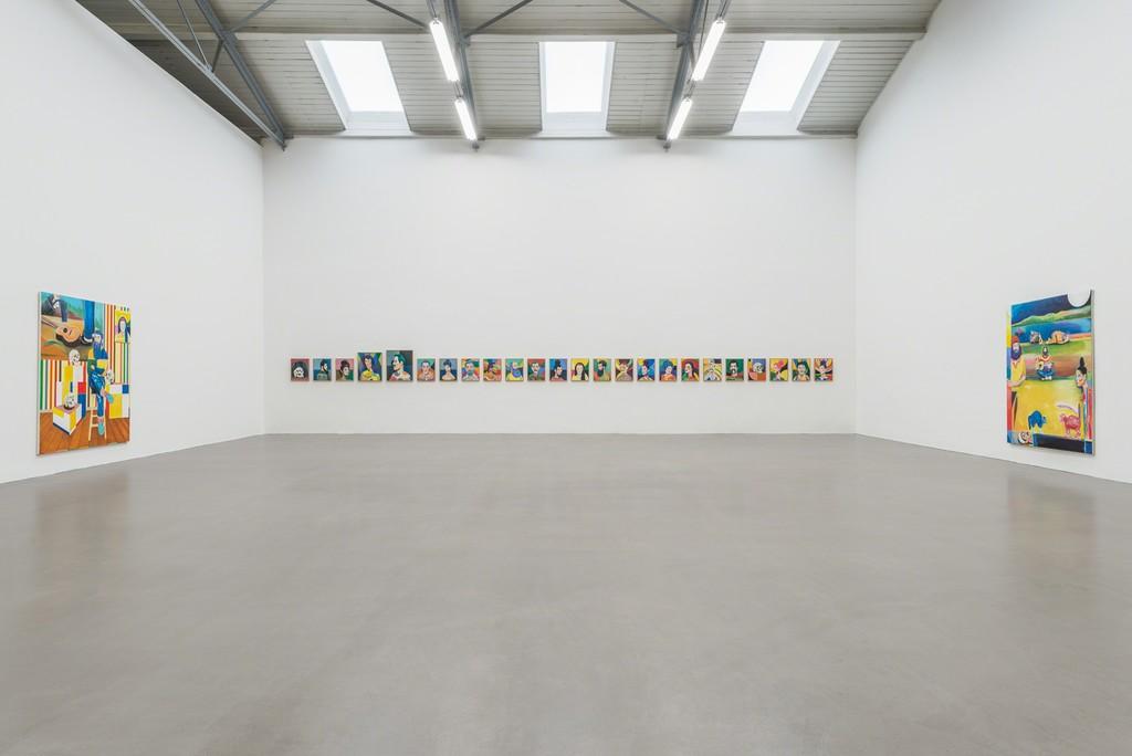 Installation view, 2017, Galerie EIGEN + ART Leipzig, Photo: Uwe Walter, Berlin