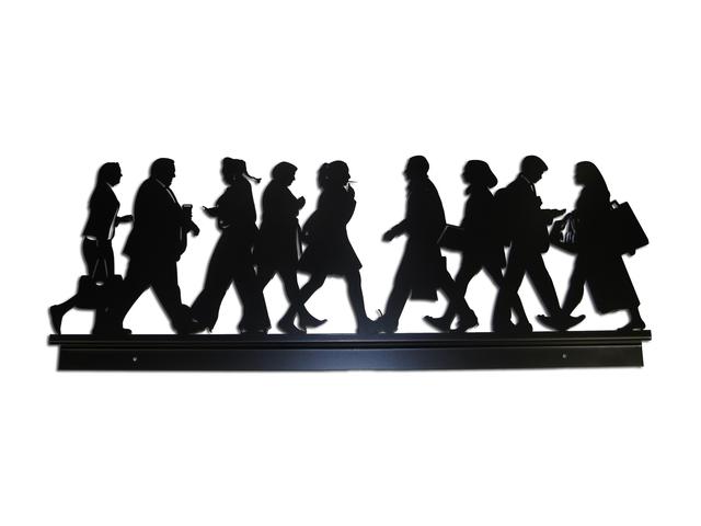 , 'City Walkers 2,' 2014, Hamilton-Selway Fine Art