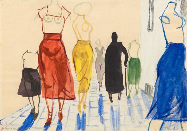 , 'Springtime on Academy of Fine Arts,' 1956, Galerie Isabella Czarnowska