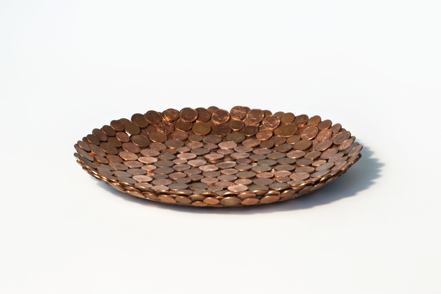 , 'Penny bowl,' 2015, Judy Straten