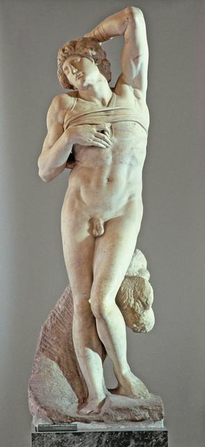 Michelangelo Buonarroti, 'L'Esclave mourant (Dying Slave)', Started in 1513, Musée du Louvre