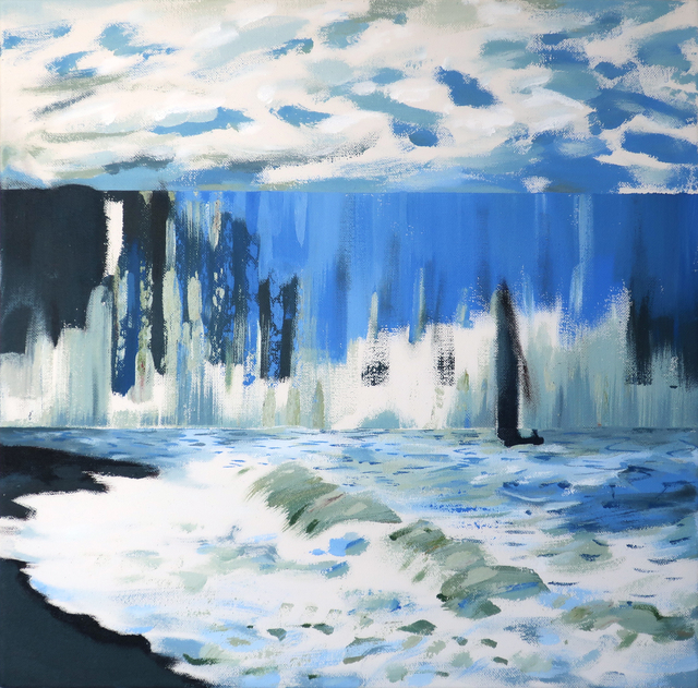 Darren Coffield, 'The Sea Sainte-Adresse [after Monet]', 2019, Dellasposa