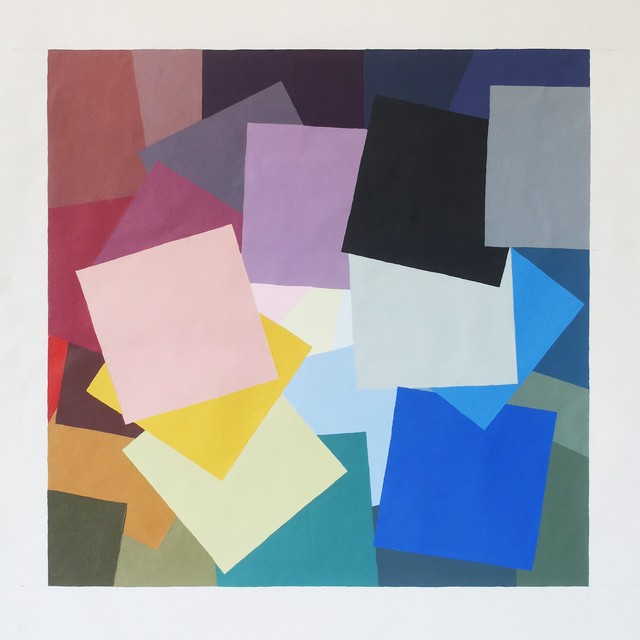 Alberonero, 'Frammenti 2', 2017, Painting, Acrylic on canvas, MAGMA gallery