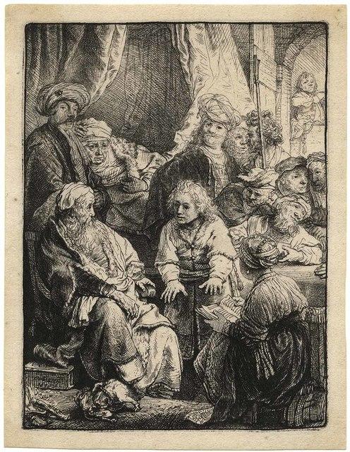 , 'Joseph Telling his Dreams,' 1638, C. G. Boerner