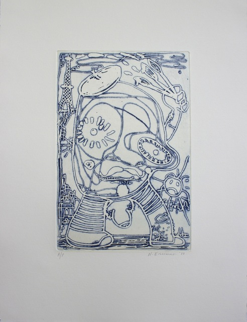 Nicole Eisenman, 'Artist', 2010, Jungle Press
