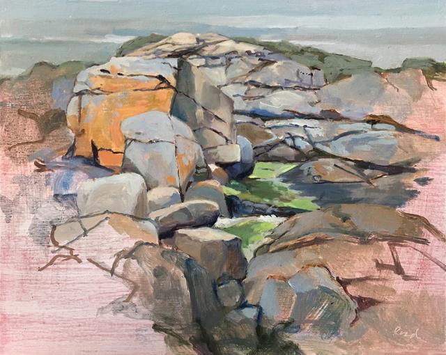 , 'Wet Seaweed,' 2015-2019, Copley Society of Art
