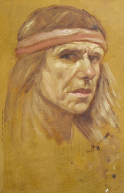 , 'Self Portrait Sketch,' 1993, The Noble Sage Collection