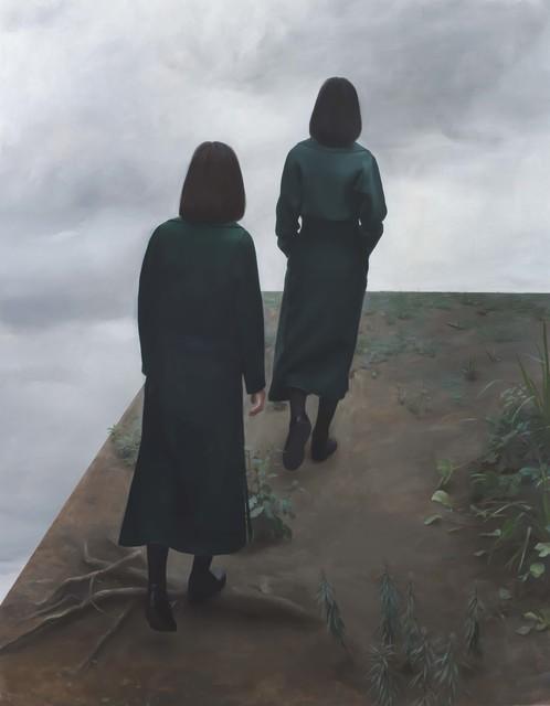 , 'A foreshortening cliff,' 2016, rosenfeld porcini