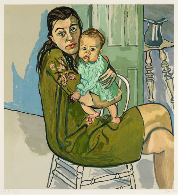 Alice Neel, 'Mother and Child (Nancy and Olivia)', 1982, Heather James Gallery Auction