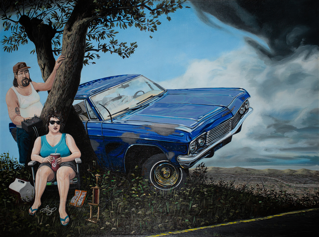, 'Von Dutch's Legacy or El Toro Viejo or The Joy, Love, and Romance of Hot Rods,' 1996, Track 16 Gallery