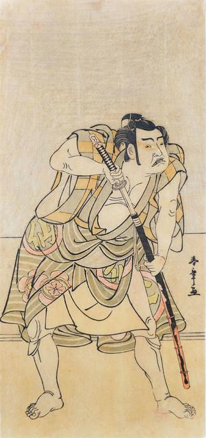 , 'Kabuki Actor Nakamura Sukegoro,' 1770, Ronin Gallery