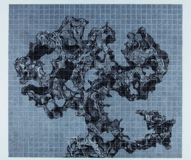Lee Chun-yi, 'Rocks, Time and World', 2015, Painting, Chinese ink on rice paper, Alisan Fine Arts