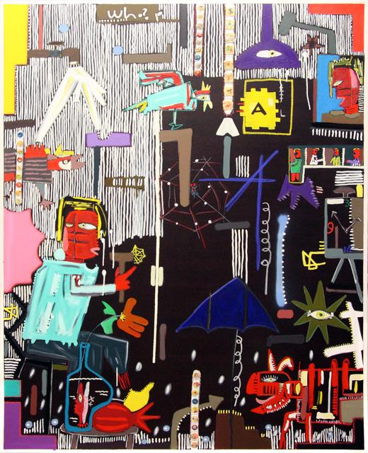 , 'Black Series   New Freedom 001,' 2018, Crossing Art