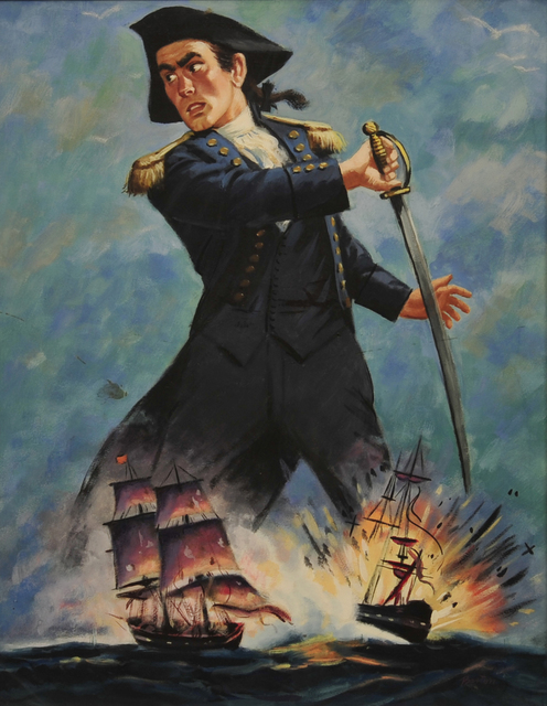 Barton, 'The Swashbuckler', 20th Century, The Illustrated Gallery