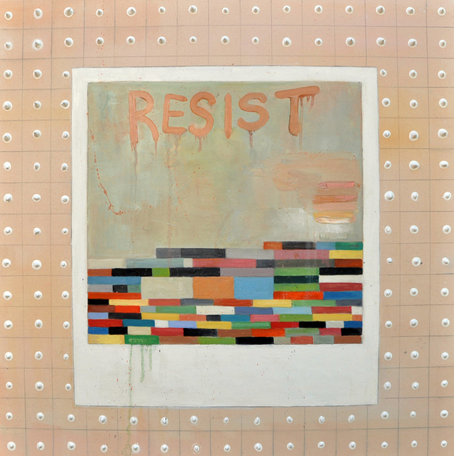 , 'Resist,' 2017, Joshua Tree Art Gallery
