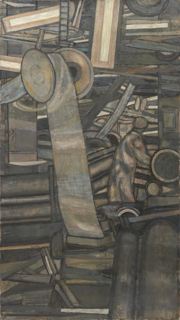 , 'Factory Interior (Wool Carding Shop),' 1954, Annely Juda Fine Art