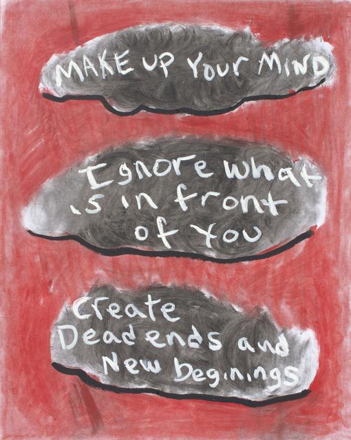 , 'Three Thoughts In Mind,' 2013-2014, NUNU FINE ART