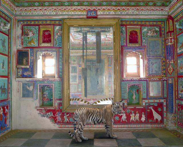 ", 'Durga's Mount, Junha Mahal, Dungarpur.From the series ""India Song"",' 2012, Danziger Gallery"