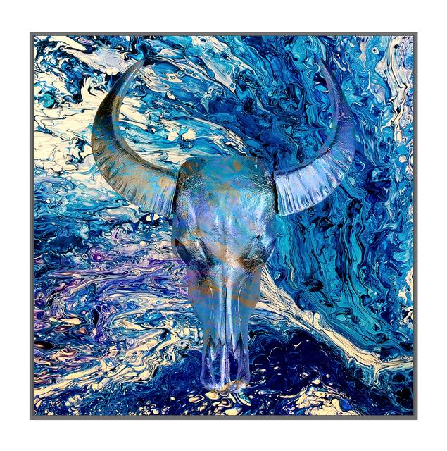 Angela Morris-Winmill, 'Ultra Marine Chinese Water Buffalo Skull', 2019, M1 Fine Art