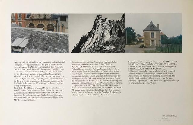 Jean Le Gac, 'DER AUSFLUG (8,9,10) / TOUR (8,9,10)', 1982, Brigitte March International Contemporary Art