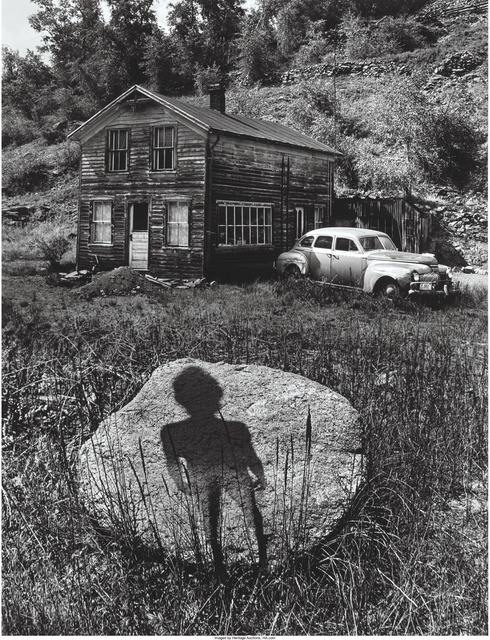 Jerry Uelsmann, 'Enigmatic Figure, Forgotten Heritage, Untitled', 1959, 1969, 1971, Heritage Auctions