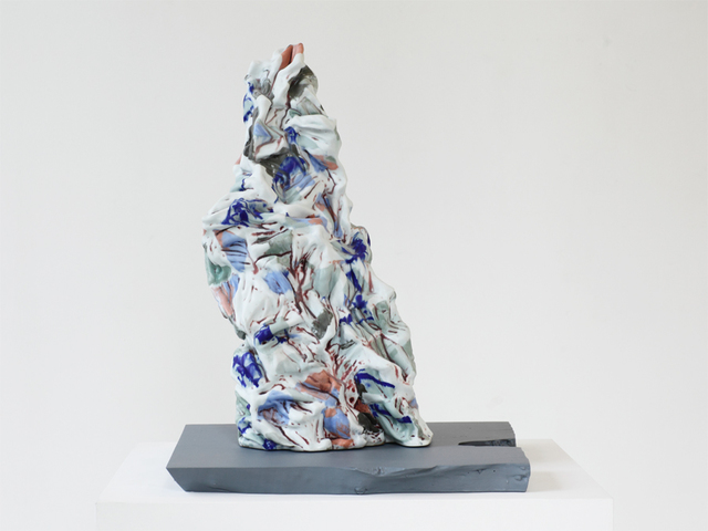 Babs Haenen, 'Desert Blues III', 2013, Sculpture, Porcelain, Hostler Burrows