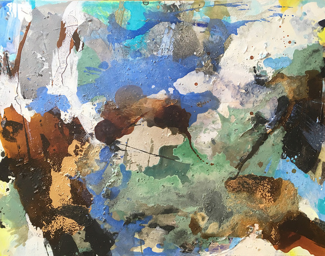 , 'Water Meadow,' 2018, Hicks Gallery