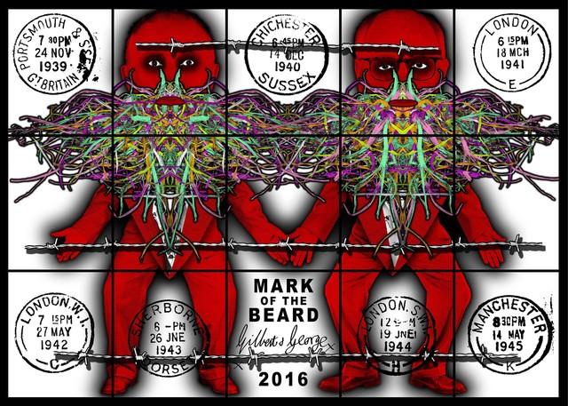 , 'Mark of the beard,' 2016, Alfonso Artiaco