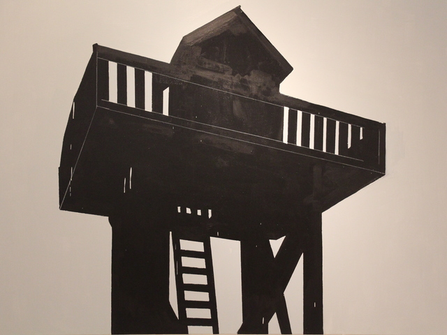 JAVIER AREÁN, 'Torre negra', 2018, Galería Quetzalli