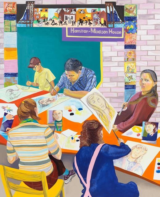 , 'Self-Portraits at Hamilton-Madison House,' 2018, Anton Kern Gallery