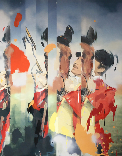 , 'Pony Up,' 2017, Roman Fine Art