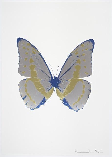 , 'The Souls III - Silver Gloss - Cool Gold - Frost Blue,' 2010, Samuel Owen Gallery