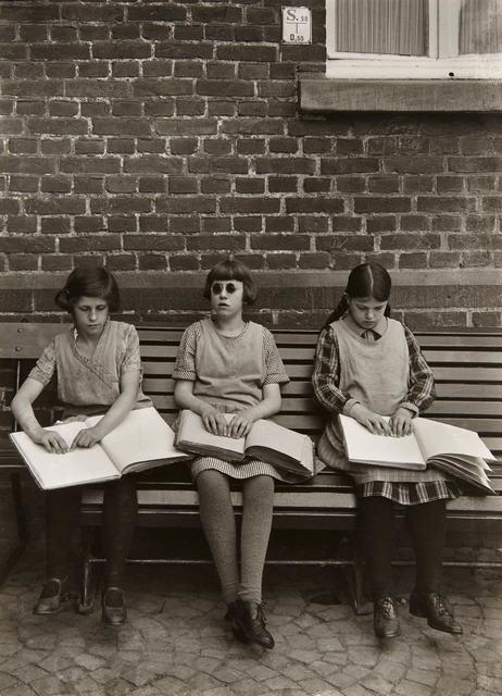 August Sander, 'Blind Children', 1930, Photography, Gelatin silver print, Doyle