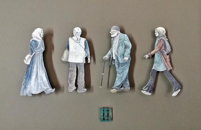 , 'Passersby of Faith,' 2019, Beatriz Esguerra Art
