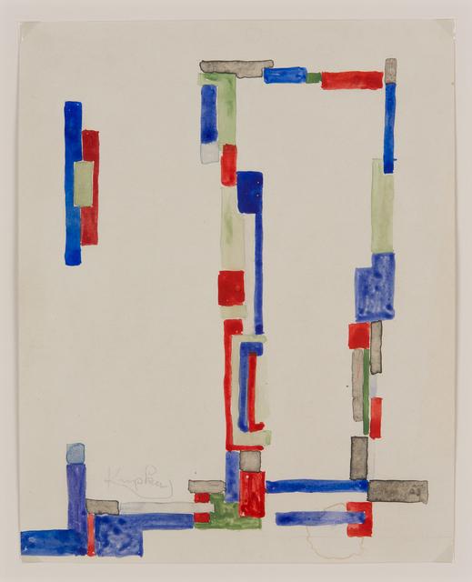 , 'Etude pour «Plans minuscules»,' ca. 1936, Galerie Le Minotaure