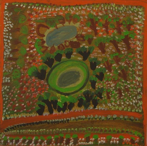 , 'Jumujarra- Two Waterholes,' 2011, Rebecca Hossack Art Gallery