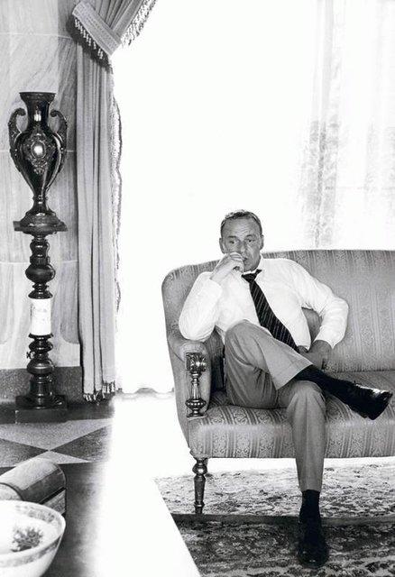 , 'Frank Sinatra Thinking Couch,' , Isabella Garrucho Fine Art