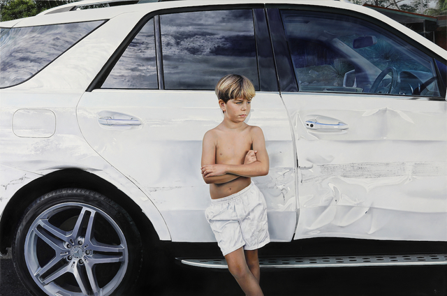 Michael Zavros, 'White Crash', 2019, Sullivan+Strumpf