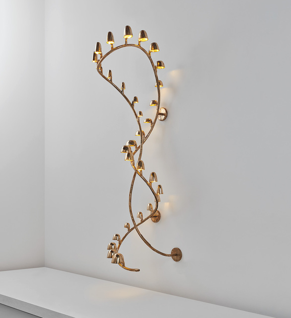 "Frederik Molenschot, '""CL-2-The Wall"" light', 2012, Design/Decorative Art, Patinated and polished bronze., Phillips"